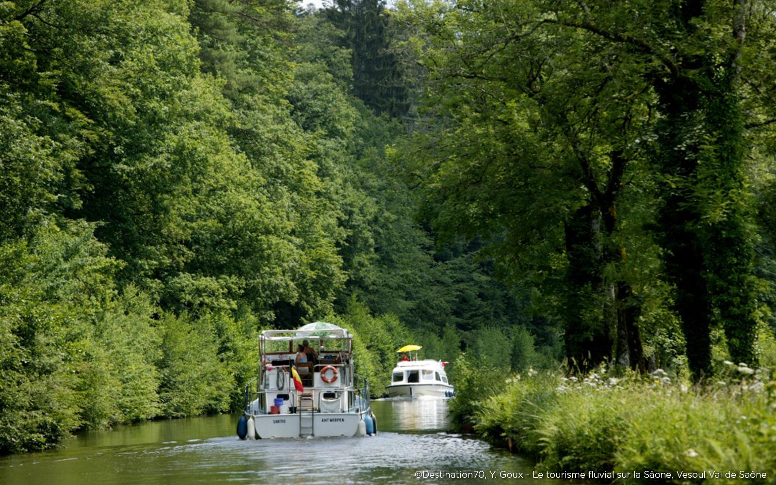 bateau Tourisme fluvial Saône