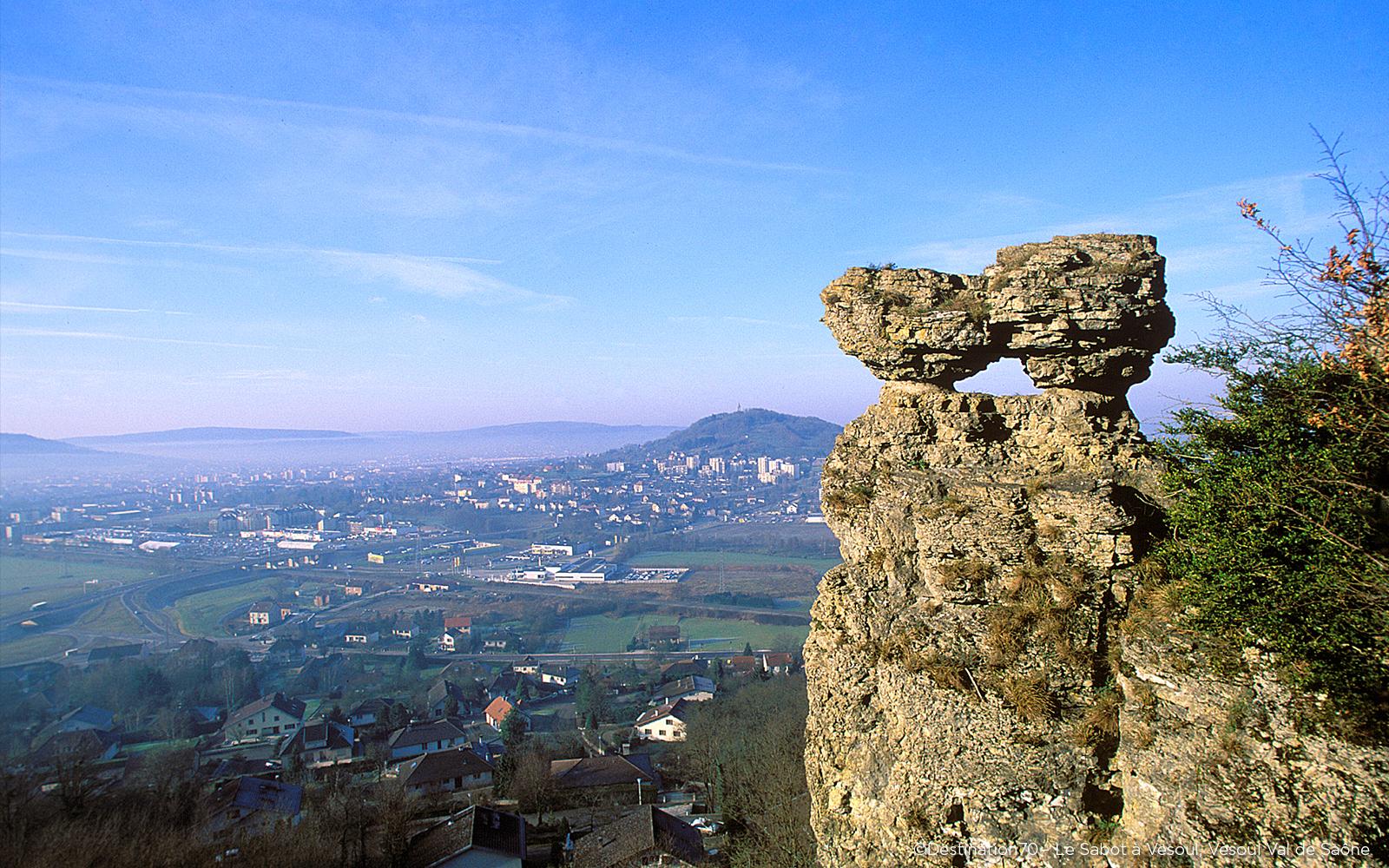 Le sabot de Vesoul paysage vallée