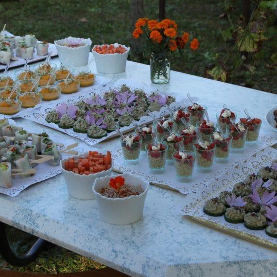 buffet traiteur bio nature