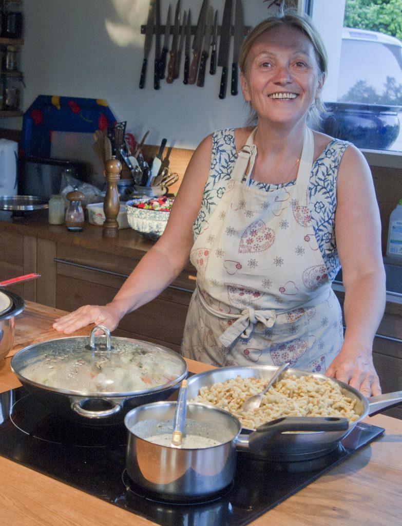 Christine Spohn cuisine bio l'hôte