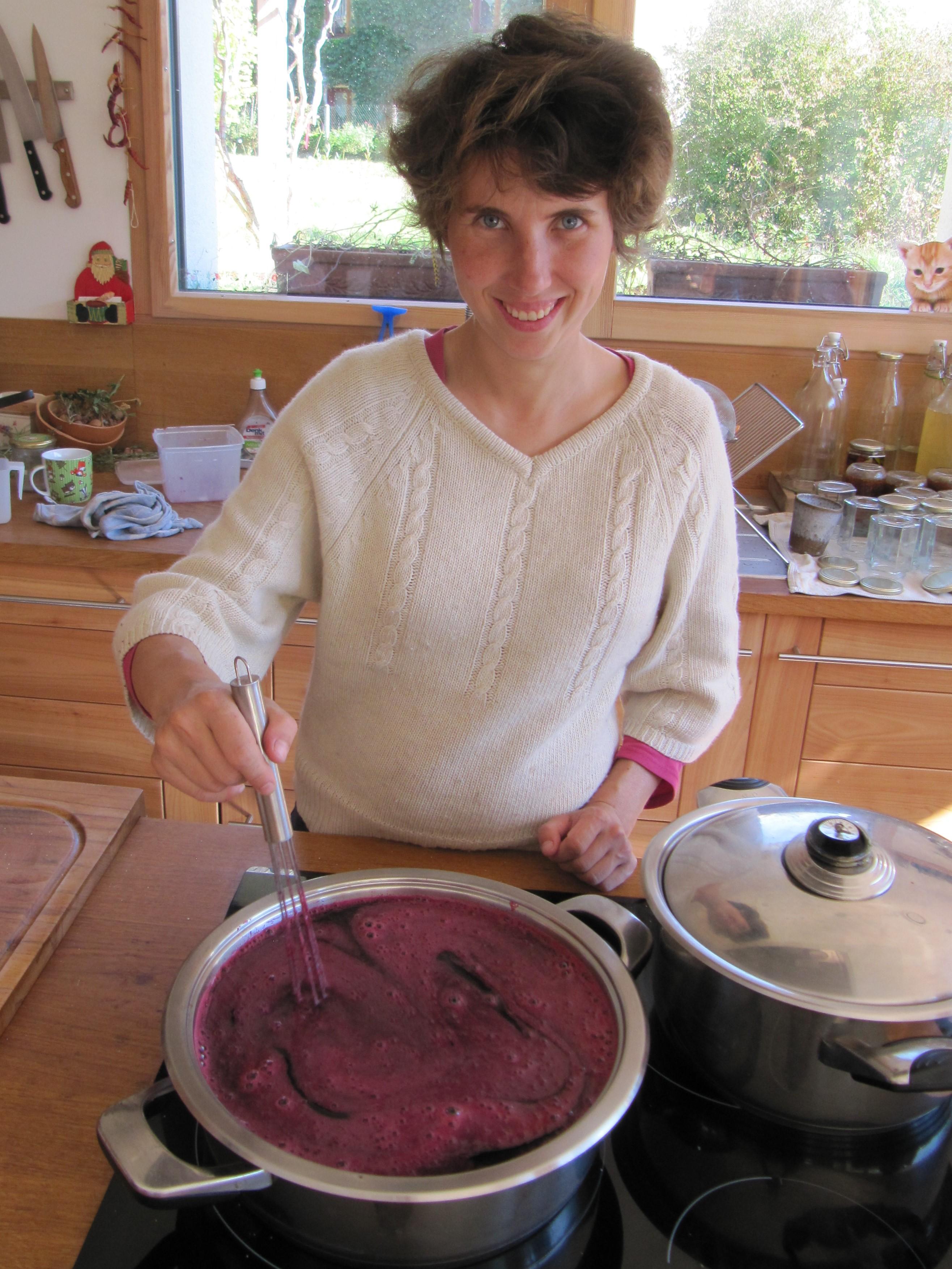 femme formation cuisine bio